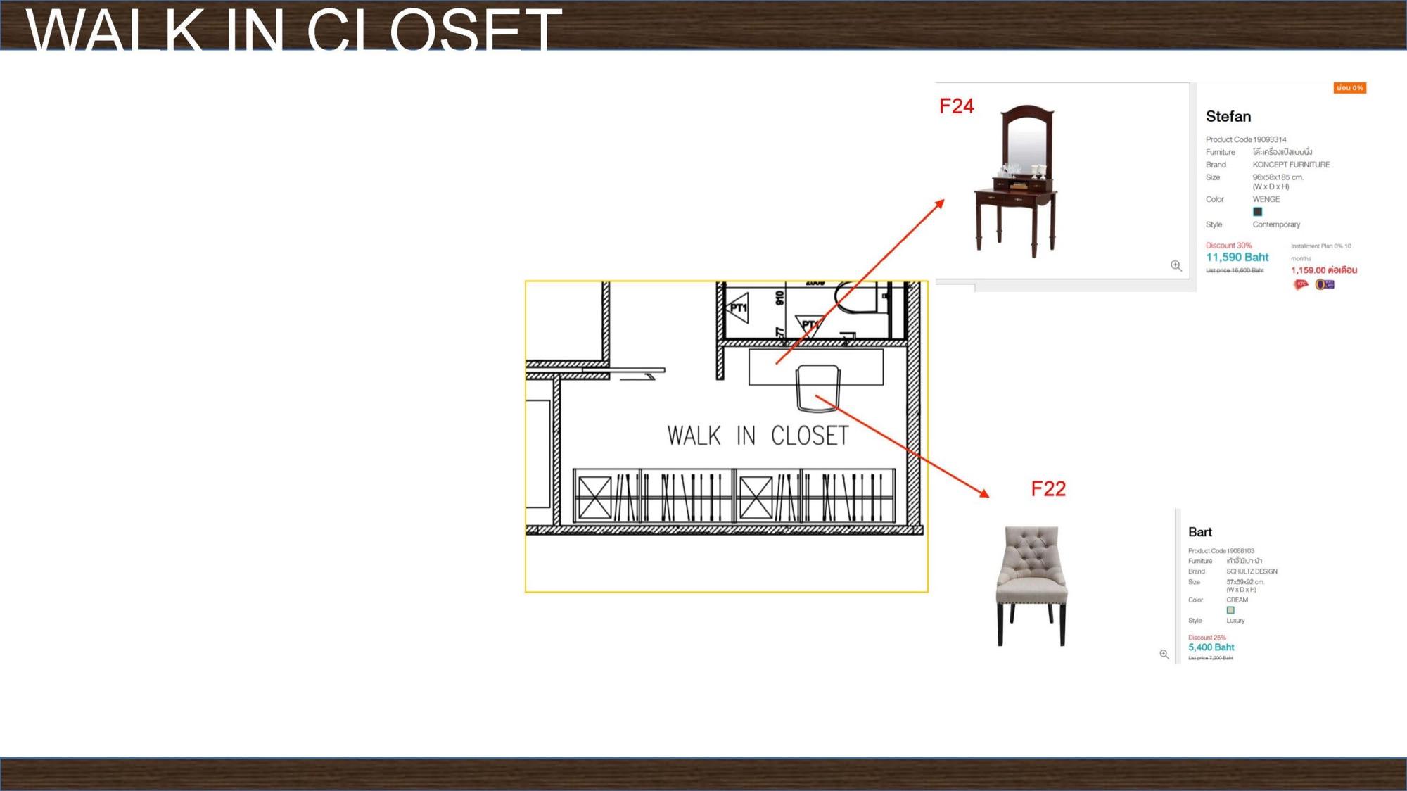 Thailand interior design furniture selection for Interior design font selection